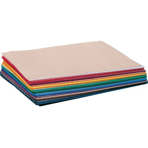 """Tissue Paper Sheets In Assorted Colors (pk/1,500), 100' L X 20"""" W"""