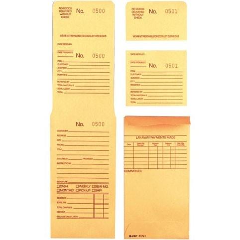 3-Part Repair / Lay-Away Envelopes