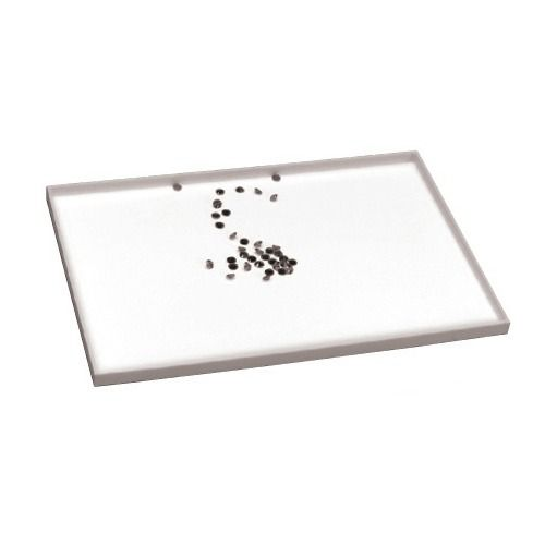 """Extra-large Sorting Trays In White, 12"""" L X 8"""" W"""