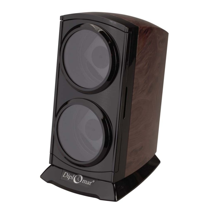 """Diplomat """"Economy"""" Double Watch Winder Tower"""
