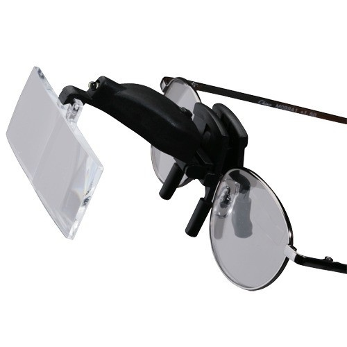 3-In-1 Clip-On Magnifier W/ Led