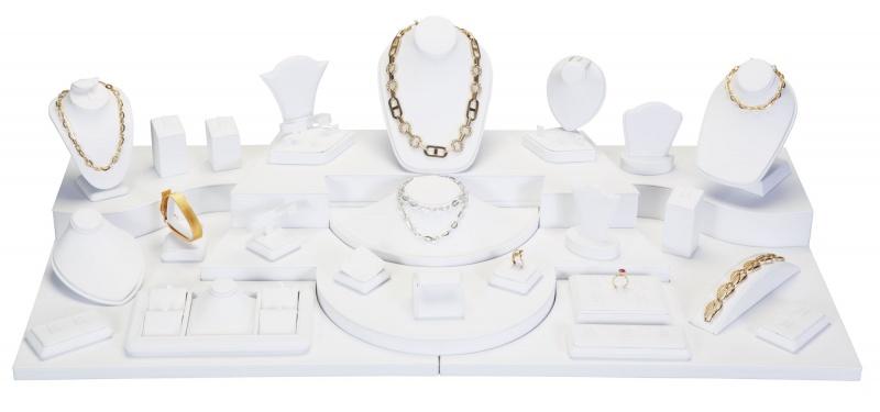 28-Piece Combination Jewelry Display Set
