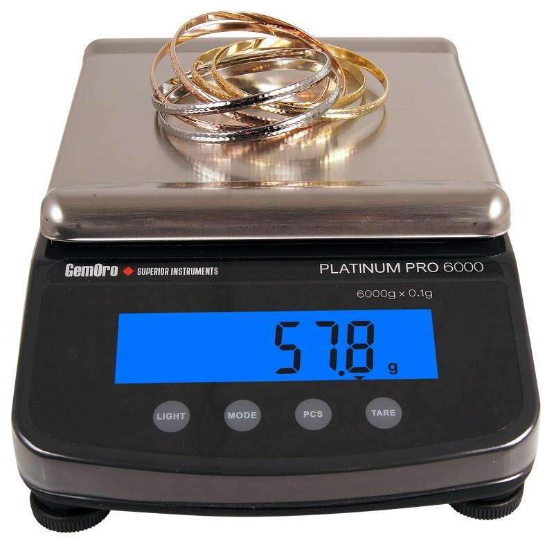 Gemoro Platinum® Pro 6000 Digital Scale