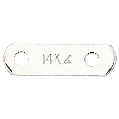 14K White 2-Strand Pearl Divider