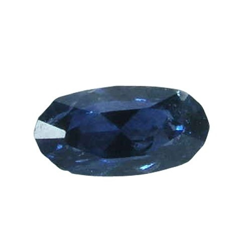 Oval Synthetic Sapphire