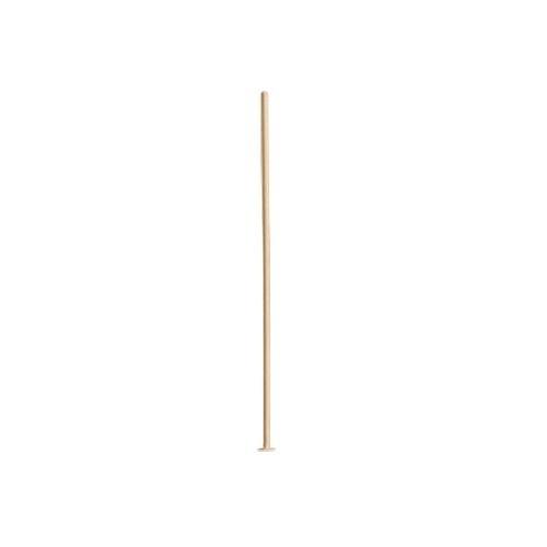 14K Yellow Head Pin