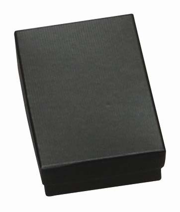 Cotton-Filled Gift Box In Matte Black