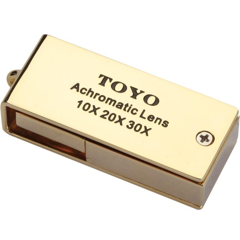 Toyo Jewelers Loupe 10X 20X 30X Achromatic Lens