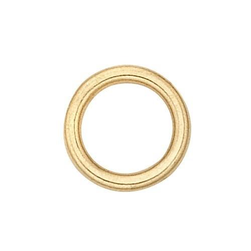 14K Yellow Closed Jump Ring