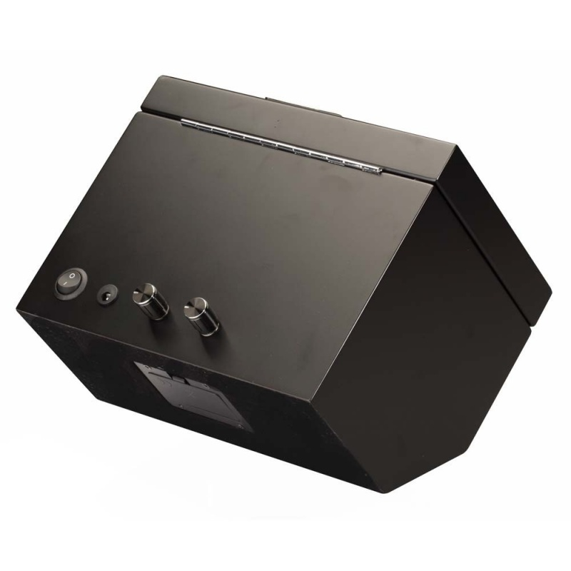 """Diplomat """"Vienna"""" Double Watch Winder In All-Black"""