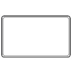 """Stackable Plastic Utility Trays In White, 15.88"""" L X 9.5"""" w"""