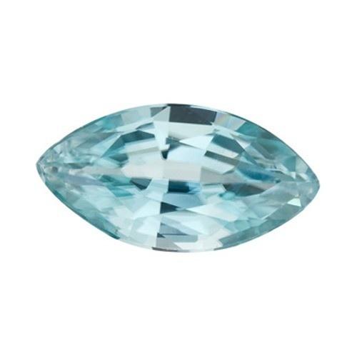 Marquise Synthetic Blue Zircon