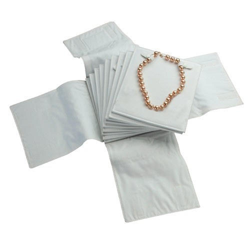 Folder For 10-Necklaces- Black