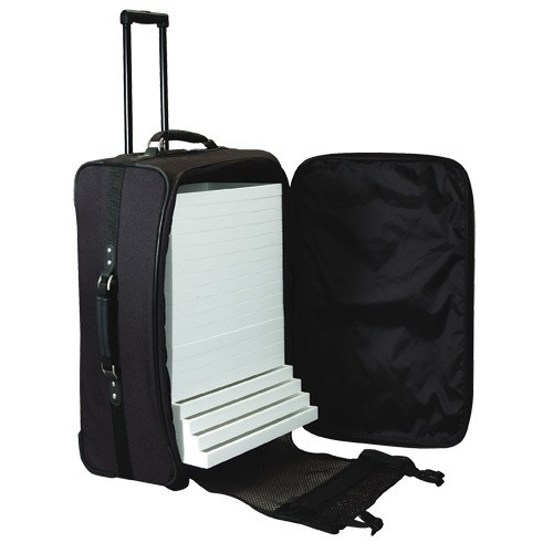 """Soft Wheeled Suitcases, 24"""" h"""