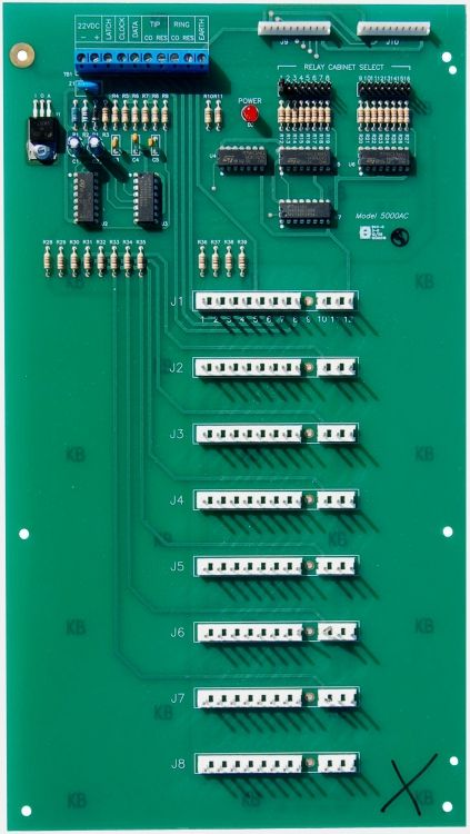 Pc Motherboard From Ih996. Used With Tel-Entry Series 'No-Phone-Bill Systems'. One Cabinet Req. For 1 To 8 Ry912