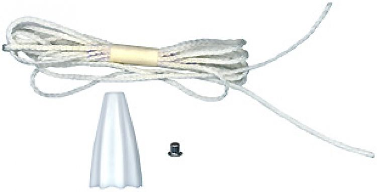 10 Pull Cord Sets For Ecall St. Includes 6 Foot Nylon Cord / Pull Pendant And Crimping Fastener (grommet) (10 Sets).