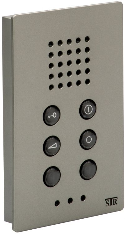 2-wire Surf Apt. Station-titan. No Internal Communications Qwikbus Series (2-wire) (maximum 3 Units In Apt.).