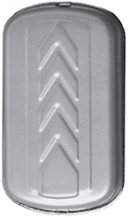 Dixie Buzzer+bell-encl.--ac/dc. Operates On 3-6vdc Or 6-8vac Surface Mounts On Wall Satin Aluminum Finish.