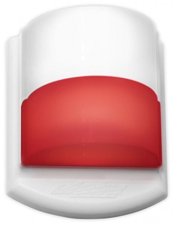 Led Corridor Dome Light, Dual-color (white, Red). Mounts Over Single-gang Or Double-gang Electrical Box. Includes One Cdl-div Dome Light Divider. Operates On 24vdc Or 24vac..