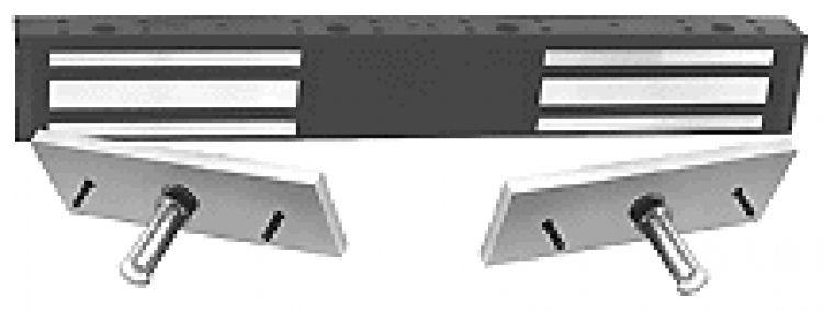 2-Door Magnetic Holder--Alum