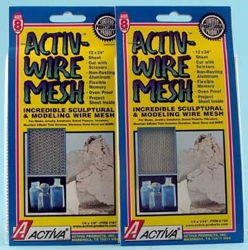 Activ-Wire Mesh™ Sculptural & Modeling Wire Mesh 24-In X 10-Ft Roll (Large Weave)