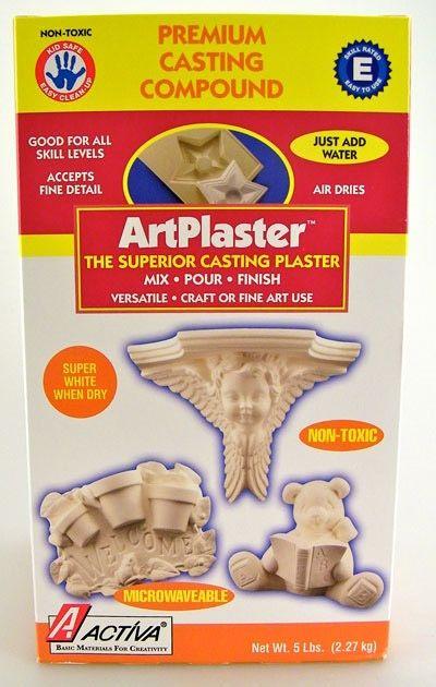 Artplaster™ Professional Casting Plaster 5 Lb (2.27 Kg)