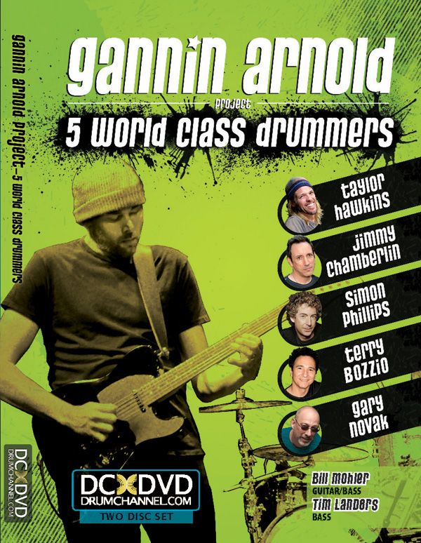 Gannin Arnold: 5 World Class Drummers