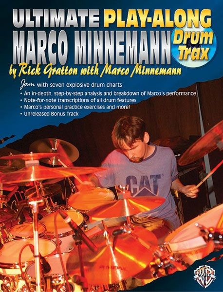 Ultimate Play-Along Drum Trax: Marco Minnemann