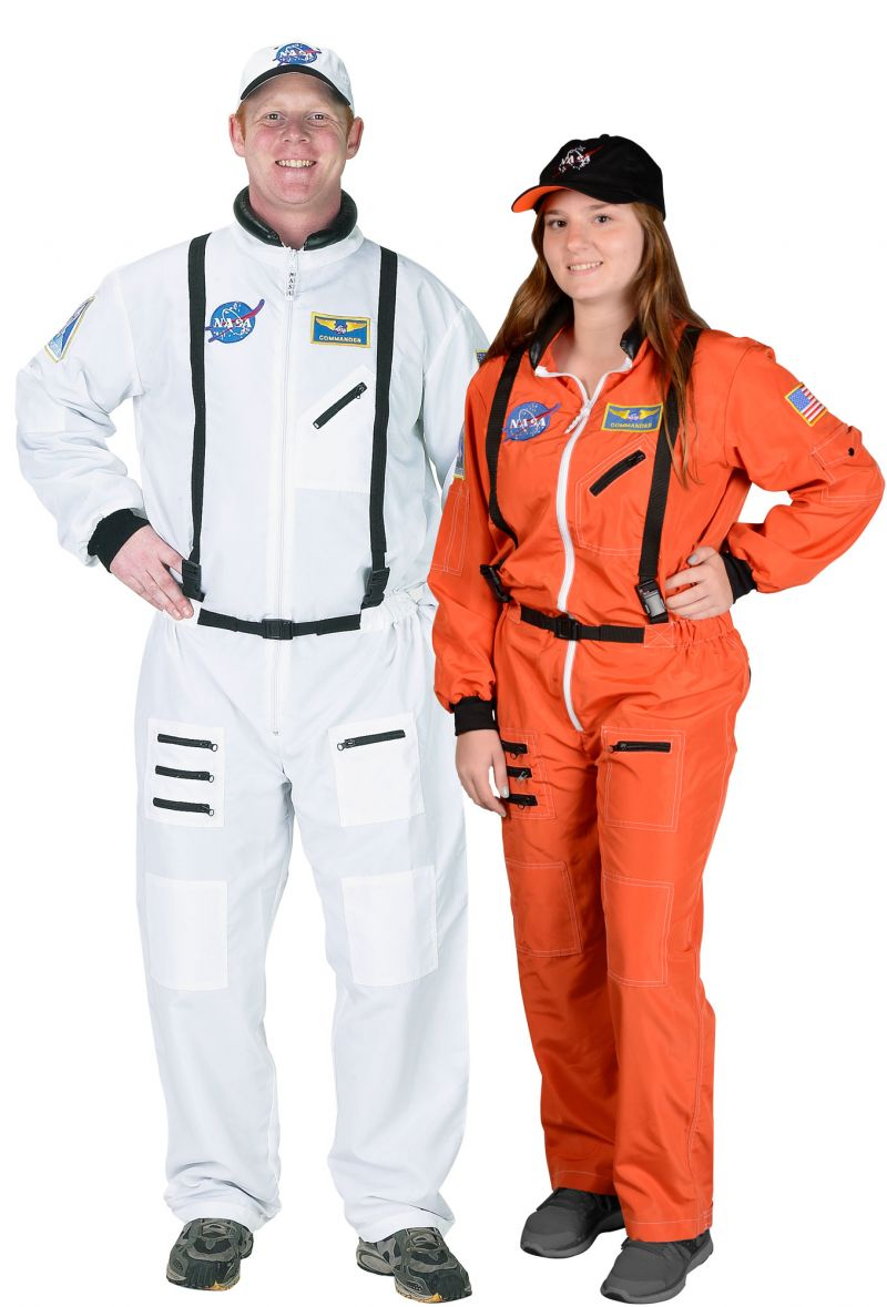 # Astronaut Suit, W/embroidered Cap – Adult