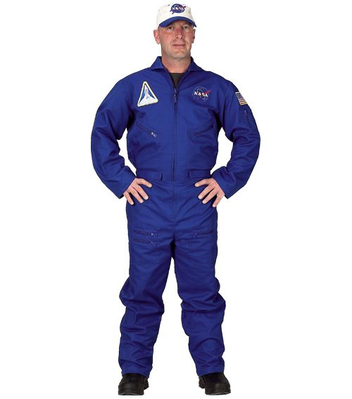 Flight Suit With Embroidered Cap, Adult