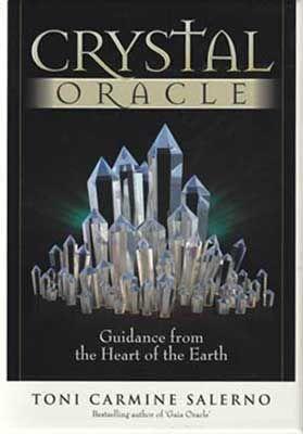 Crystal Oracle Deck & Book By Toni Carmine Salerno