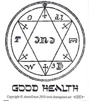 Good Health Bumper Sticker