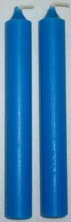 """1/2"""" Light Blue Chime Candle 20 Pack"""