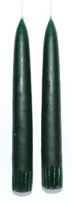 """7"""" Dark Green Taper Pair"""