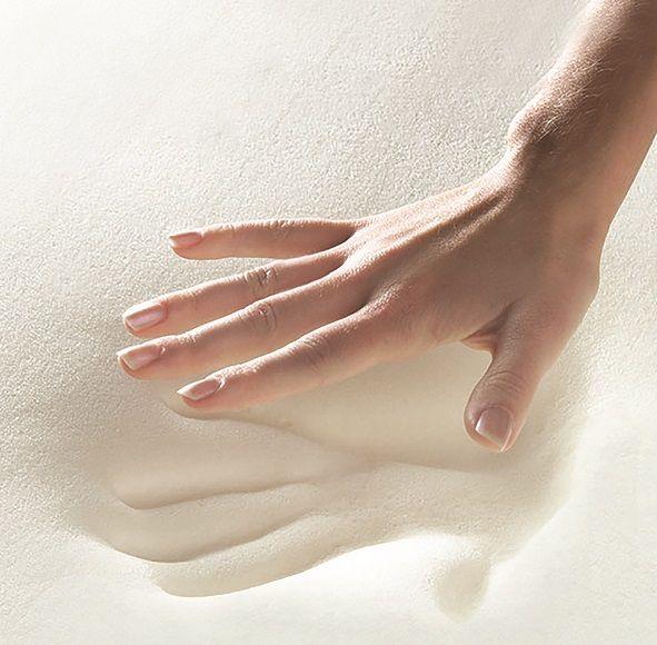 Serta Memory Foam Topper - White