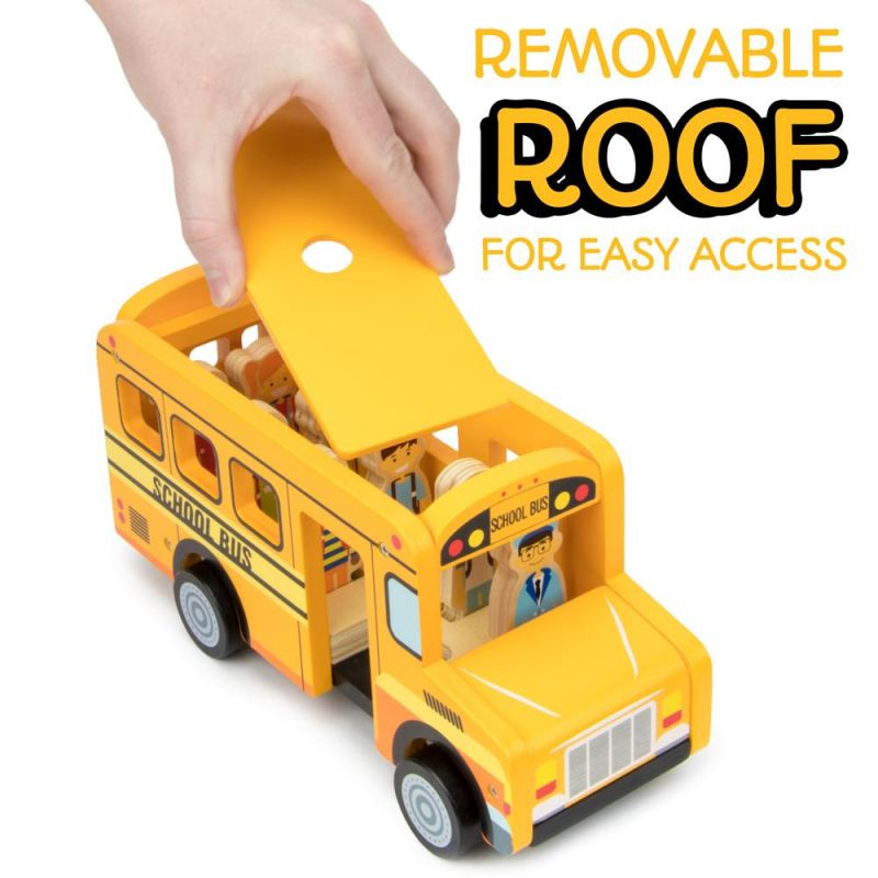 Back To School Bus Playset