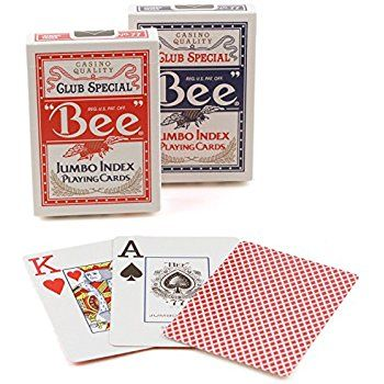 Inner Pack-Bee Jumbo Index Poker - Inner Pack 12 Decks