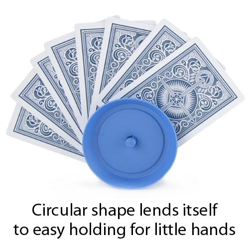 4-pack Card Holders For Playing Cards Circular-shape