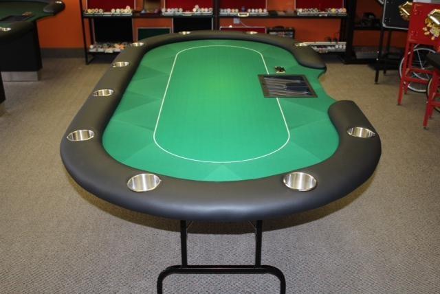 Black Sublimation Poker Table Felt