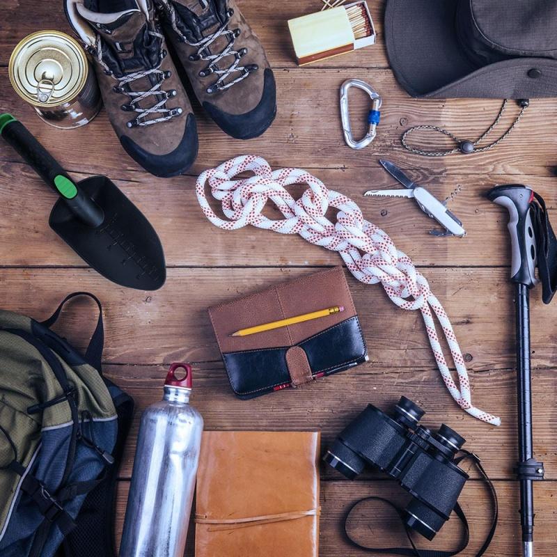 Backpackers Trowel, Black & Green