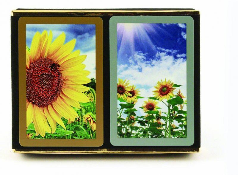 Sunflowers, Jumbo Index 2-Deck Set