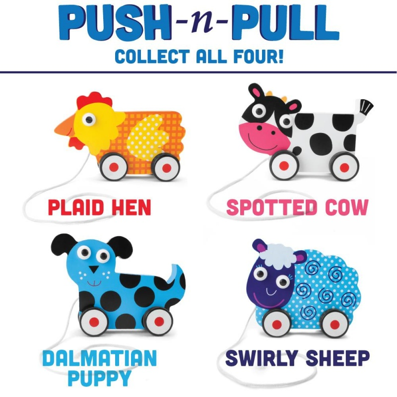 Push-N-Pull Swirly Sheep
