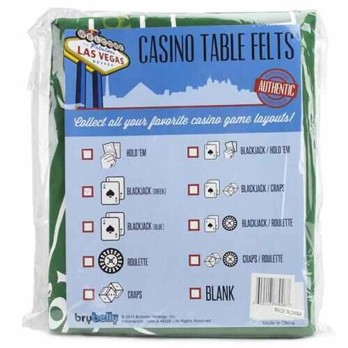 Green Blackjack Table Felt - Gaming Table Top For Blackjack