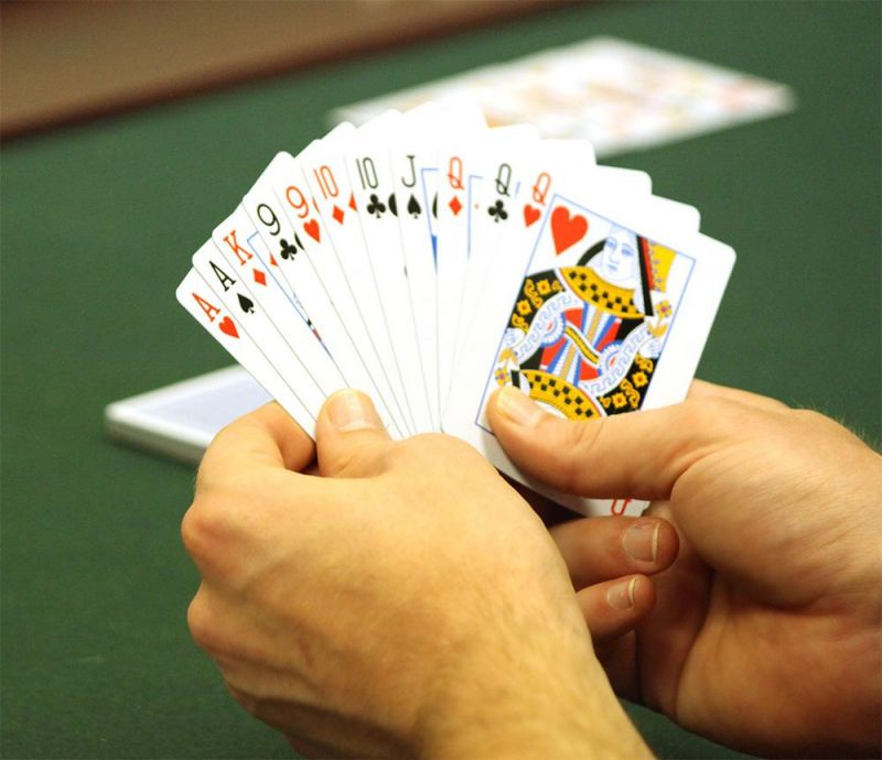 Single Red Deck Pinochle Playing Cards