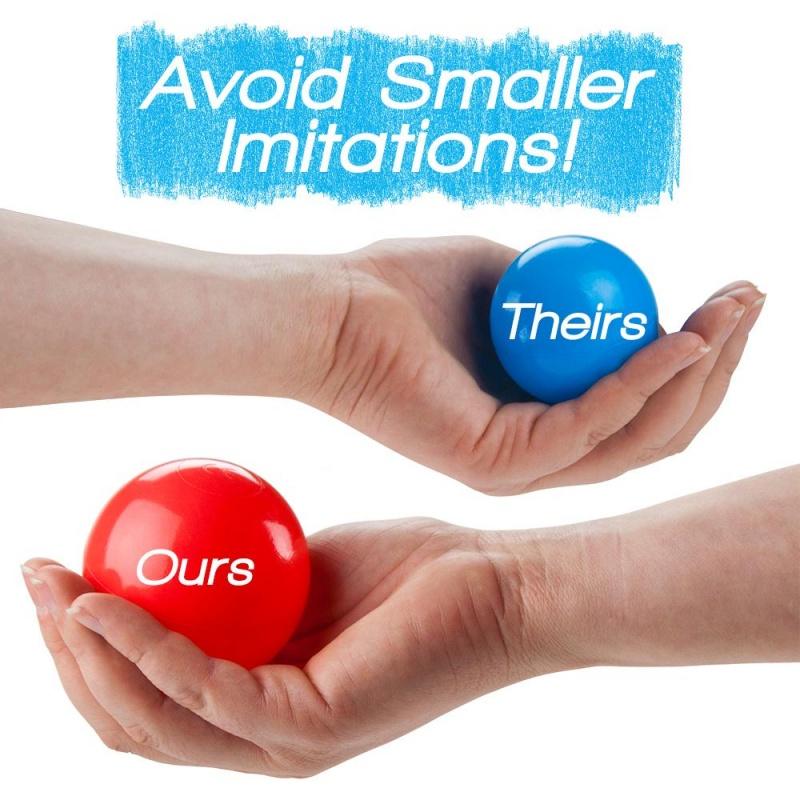 "100 Jumbo 3"" Multi-colored Soft Ball Pit Balls W/mesh Case"