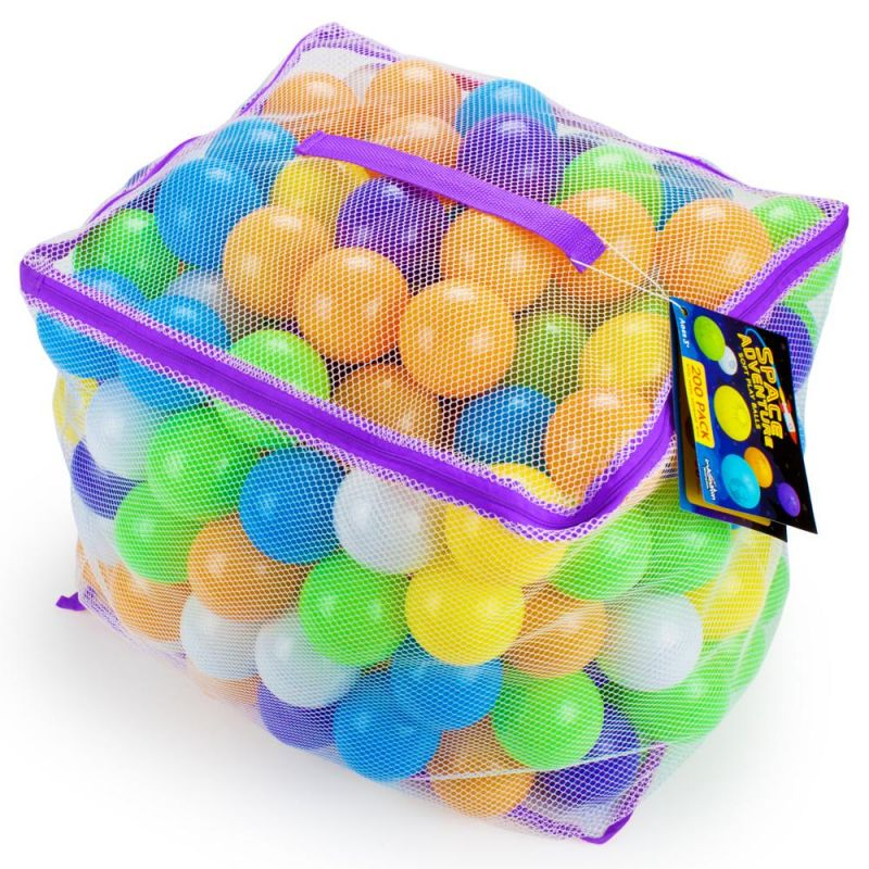 Space Adventure Soft Play Balls, 200-Pack