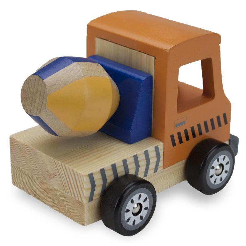 Wooden Wheels Cement Mixer