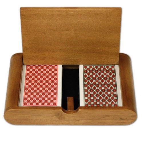 Copag Plastic Playing Cards Master Poker Reg Wood Box