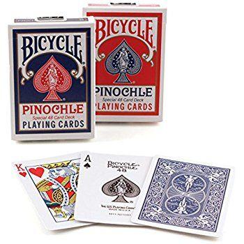 Inner Pack-Bicycle Pinochle Inner Pack 6 Decks