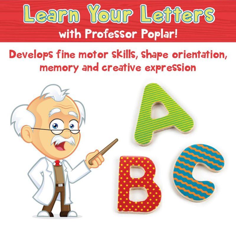 Professor Poplar's Wooden Alphabet Puzzle Board